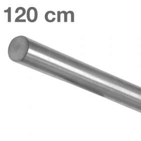 """Edelstahl-Treppengeländer - """"gebürstet""""  - 120 cm"""