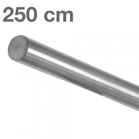 """Edelstahl-Treppengeländer - """"gebürstet""""  - 250 cm"""