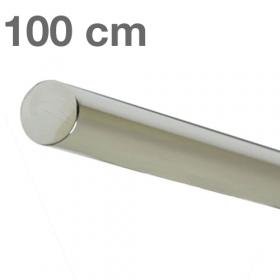 "Edelstahl-Treppengeländer - ""poliert""  -  100 cm"