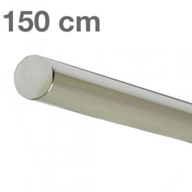 "Edelstahl-Treppengeländer - ""poliert""  -  150 cm"