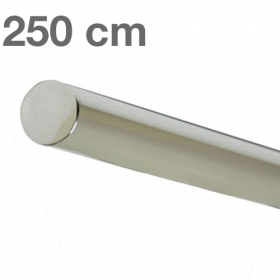 "Edelstahl-Treppengeländer - ""poliert""  -  250 cm"