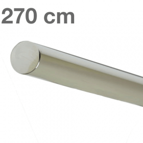 "Edelstahl-Treppengeländer - ""poliert""  -  270 cm"
