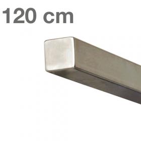 """Edelstahl-Treppengeländer - """"vierkant"""" - 120 cm"""