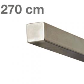 """Edelstahl-Treppengeländer - """"vierkant"""" - 270 cm"""